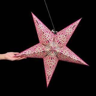 Artenica pink star light