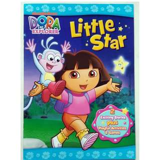 Dora The Explorer Activity and Story Book - Little Star