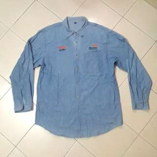 BHP BILLITON Jeans Long Sleeve Shirt