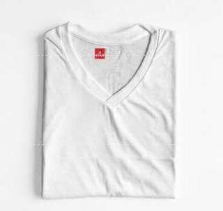 Plain V- neck Shirt (unisex)