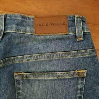 Jack wills 女裝girl friend 牛仔褲