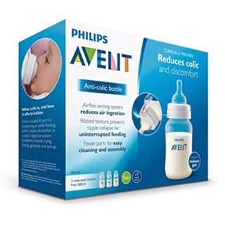 Brand New Avent Classic+ Bottle 260ml 3pcs