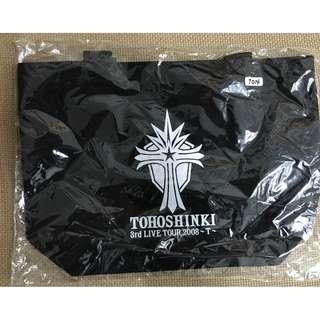 T015 Tohoshinki - 3rd Live Tour 2008 T Concert Goods - Tote Bag