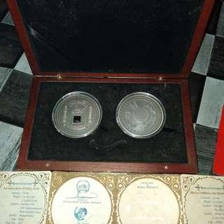 Kaabah Crystal Medallion