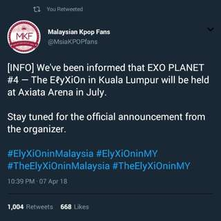 (INTEREST CHECK) ELYXION IN MALAYSIA TICKETING SERVICE