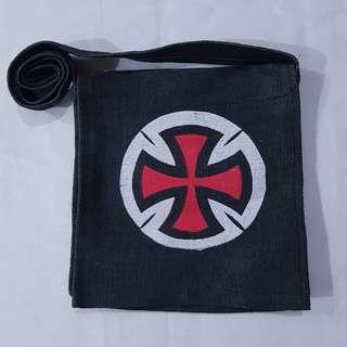 Black / Navy Blue Sling Bag / Messenger Bag