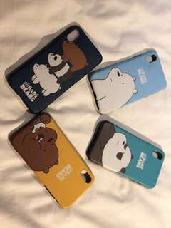 We Bare Bears iPhone 7 Plus & iPhone X Casing