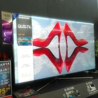 Promo kredit Premium QLED TV merk Samsung QA55Q7F