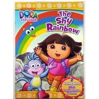 Dora The Explorer Activity and Story Book - The Shy Rainbow