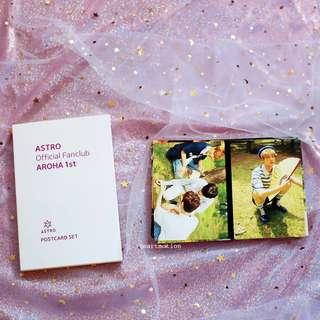 ASTRO 아스트로 1st Official Fanclub Aroha Goods - Postcards