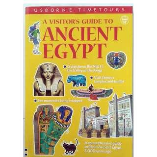 Preloved Usborne Educational Book - Ancient Egypt
