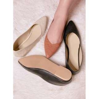 Flats shoes pointed snake skin design Item code: c1005