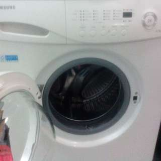 Samsung front load washer 100%working conditions