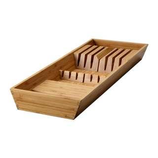 [IKEA] VARIERA Knife tray, bamboo