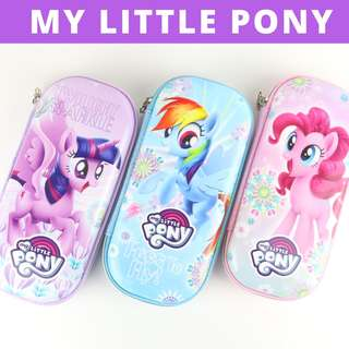 Pencil Case Hard Case Large Capacity - My Little Pony