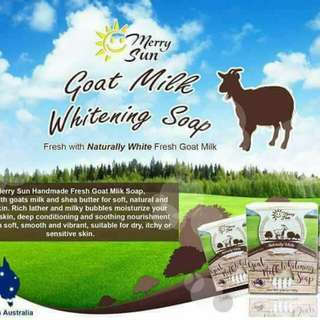 Goat Milk Whitening Soap