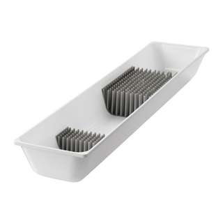 [IKEA] VARIERA Knife tray, white