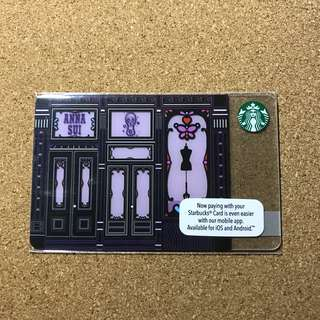 Malaysia Starbucks Anna Sui Card
