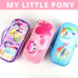 Pencil Case Hard Case Very Large Capacity - My Little Pony