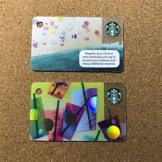 Singapore Starbucks Card Mini