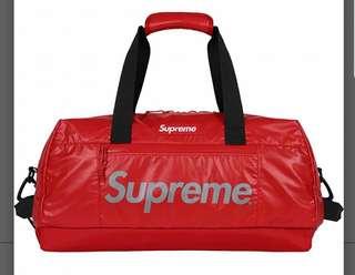 Supreme Duffle Bag Red