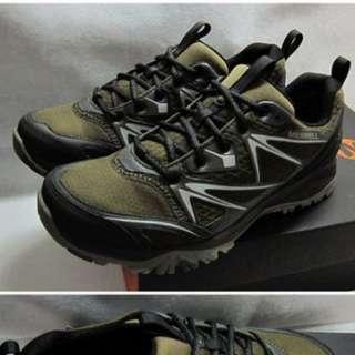 {就是愛二手}【MERRELL】男 防水 全新 多功能 登山鞋 CAPRA BOLT GORE-TEX® ML37423