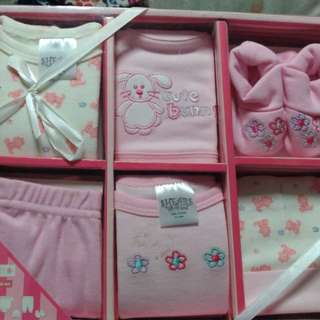 Shears Baby 6 Piece Layette Gift Set