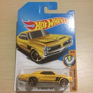 Hot Wheels 359/365 '67 Pontiac GTO 8/10 Muscle Mania #List4Avengers