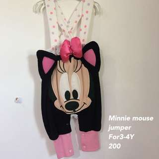Minnie mouse jumpsuit