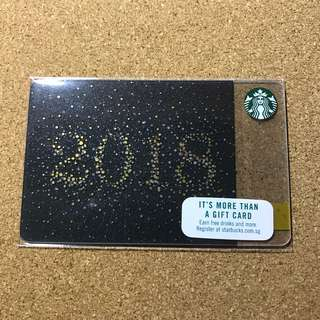 Singapore Starbucks Card 2018