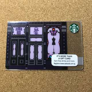 Singapore Starbucks Anna Sui Card