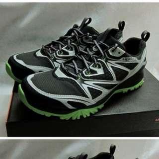 {就是愛二手}【MERRELL】男 防水 全新 多功能 登山鞋 CAPRA BOLT GORE-TEX® ML35373