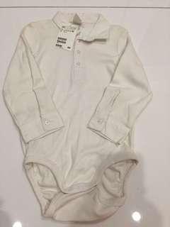 H & M shirt onesie