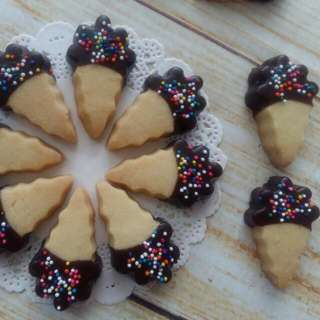 Ice Cream Cookies / Biskut Aiskrim