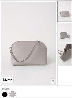 Brand New Auth H&M Taupe Shoulder Bag