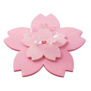 櫻花季🌸星巴克粉櫻朵朵矽膠杯蓋 櫻花造型 Starbucks