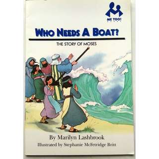 Preloved Story Book - The Story of Moses