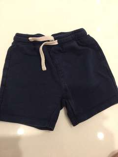 Miki Baby shorts in navy blue