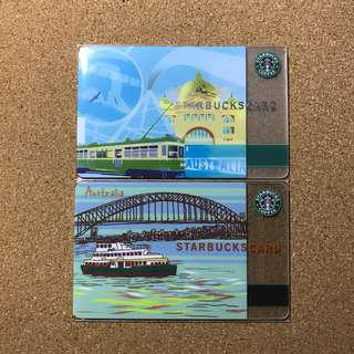 Australia Starbucks City Card