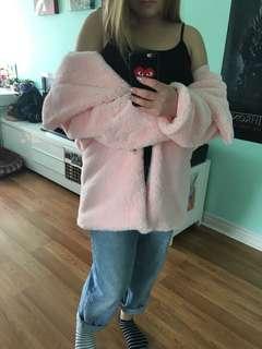 Pink Faux Fur!
