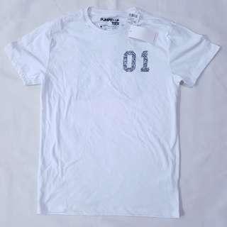 Penshoppe White T-Shirt (NEW)