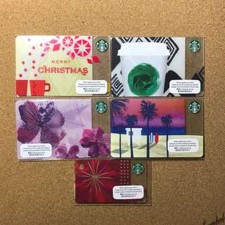 Hong Kong Starbucks Card