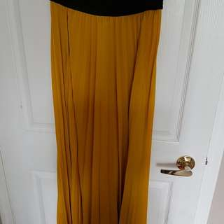 Zara Long Skirt Size M