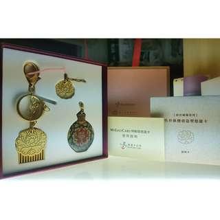 故宮國寶 牡丹鼻煙壺造型悠遊卡