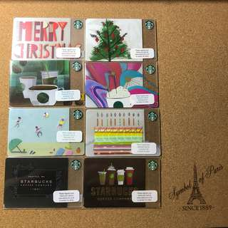 Thailand Starbucks Cards