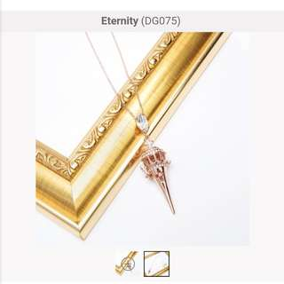 Dearest Grace Eternity Necklace DG075