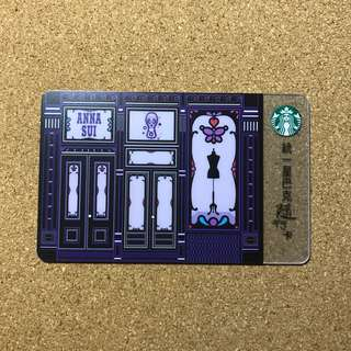 Taiwan Starbucks Anna Sui Card