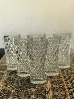 Bohemia Crystal Drinking Glasses