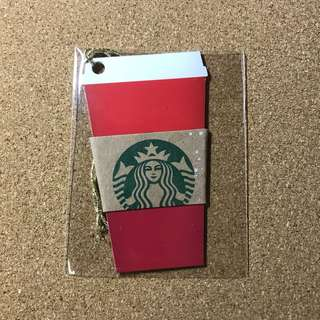 Thailand Starbucks Christmas Cup Card