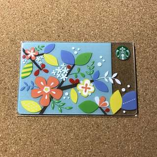 Thailand Starbucks Flower Card